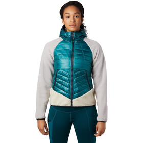 Mountain Hardwear Altius Hybrid Hoody Damen dive